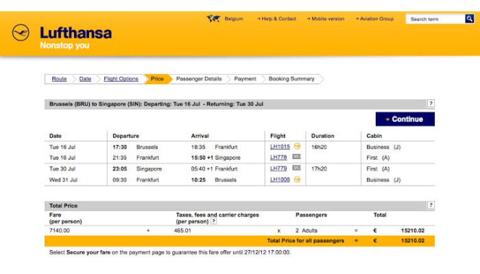 Lufthansa Promo code 2020- Up to €30 discount on a flight from Europe